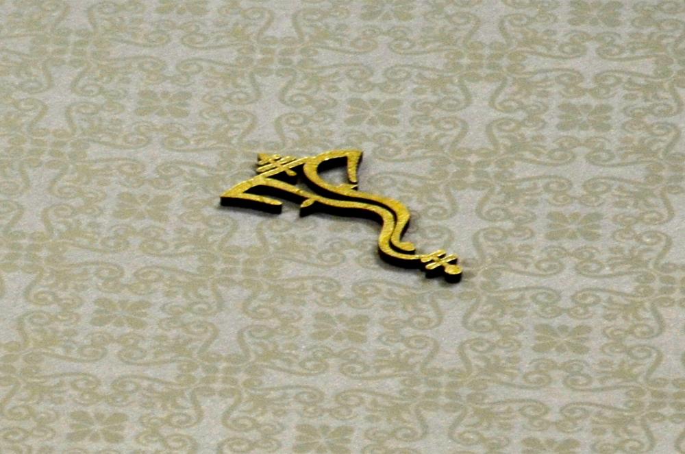 Hindu Wedding Card PP 8179 Zoom View
