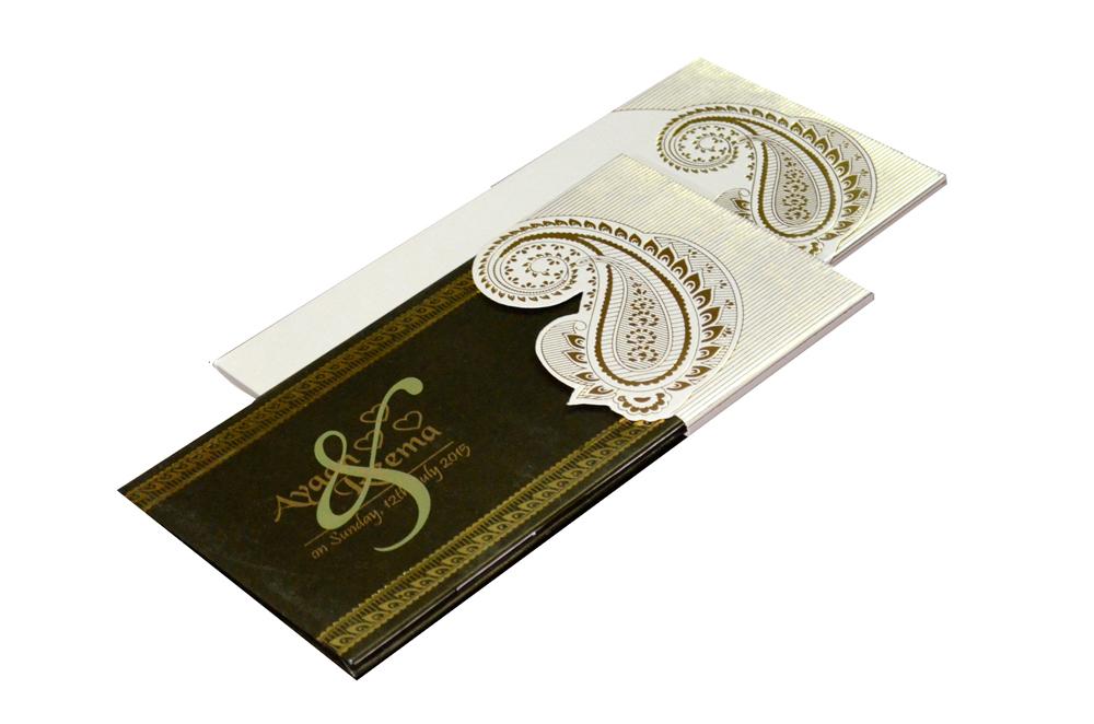 Muslim Wedding Card PYL 027