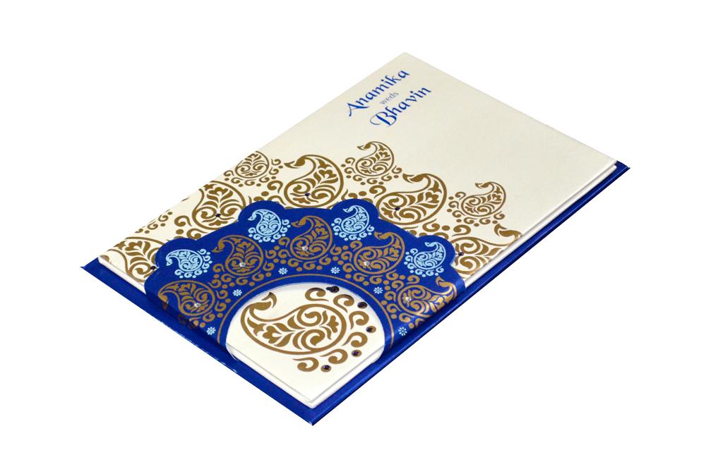 Designer Wedding Card PYL 149 Card