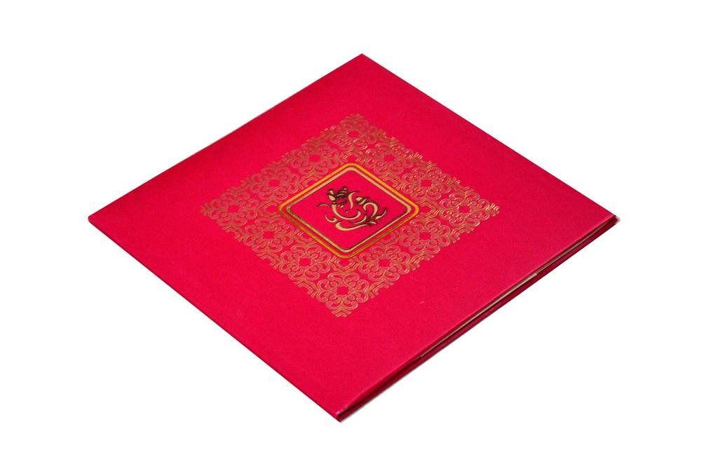 Hindu Wedding Card PYL 5033 Card