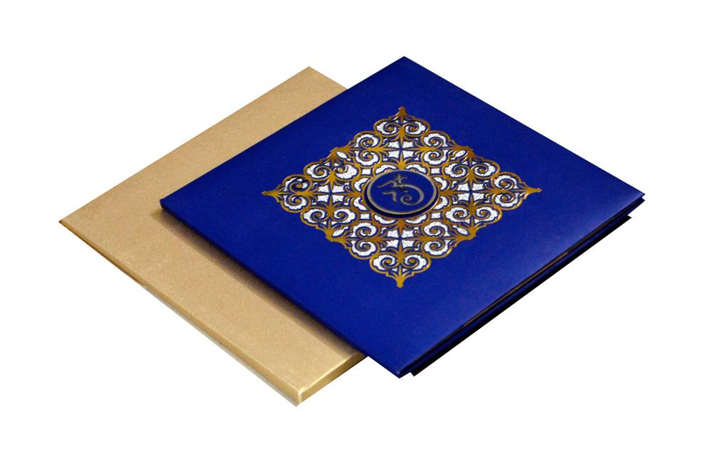 Hindu Wedding Card PYL 5034
