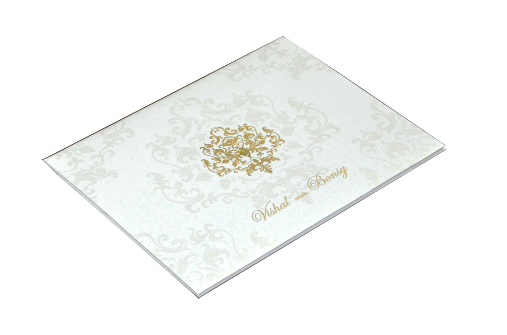 Designer Wedding Card RB 1150 Card