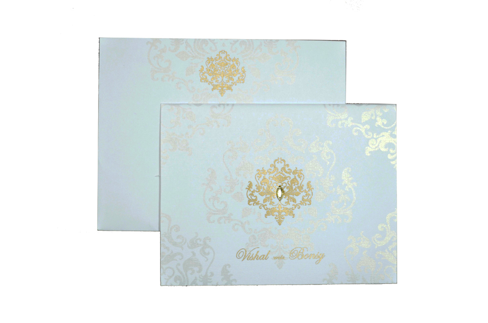 Designer Wedding Card RB 1150 Top View