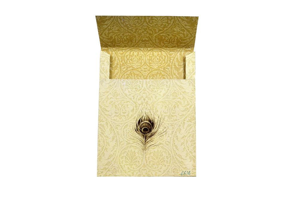 WD 6616 Envelope Back
