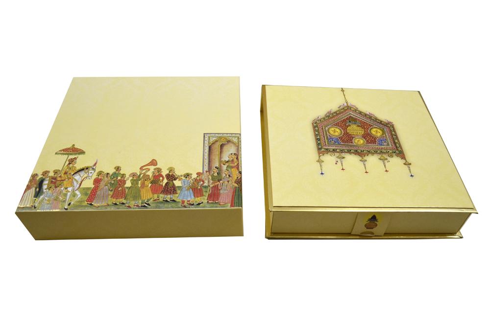 Boxed Wedding Card AC 515