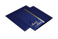 Blue Wedding Card Design PP 8131