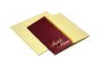 Red & Cream Wedding Card Design PP 8162