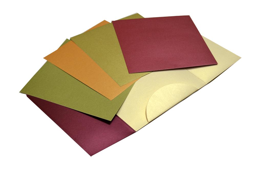 Red & Cream Wedding Card Design PP 8162 Inside View