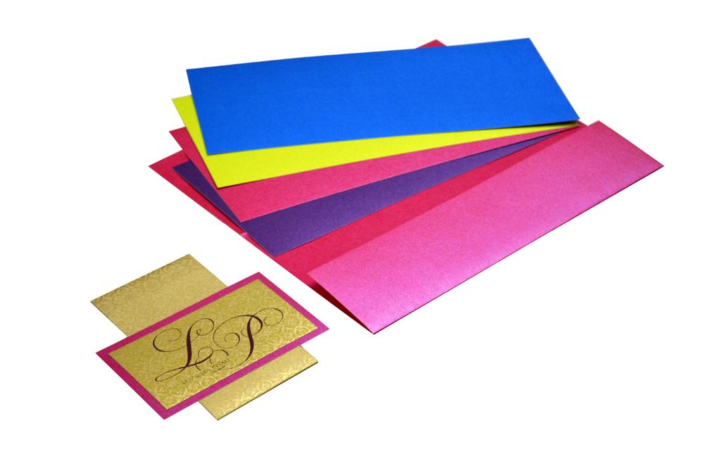 Pink Wedding Card Design PP 8202 e