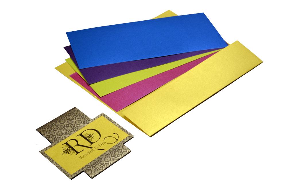 Yellow Wedding Card Design PP 8204 e
