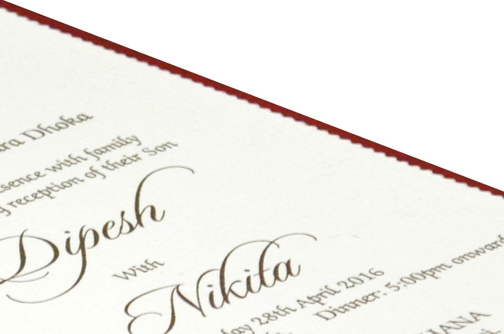 Single Sheet Invitation Design PP 8322 b