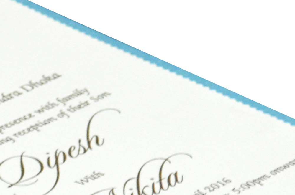 Single Sheet Invitation Design PP 8324 b