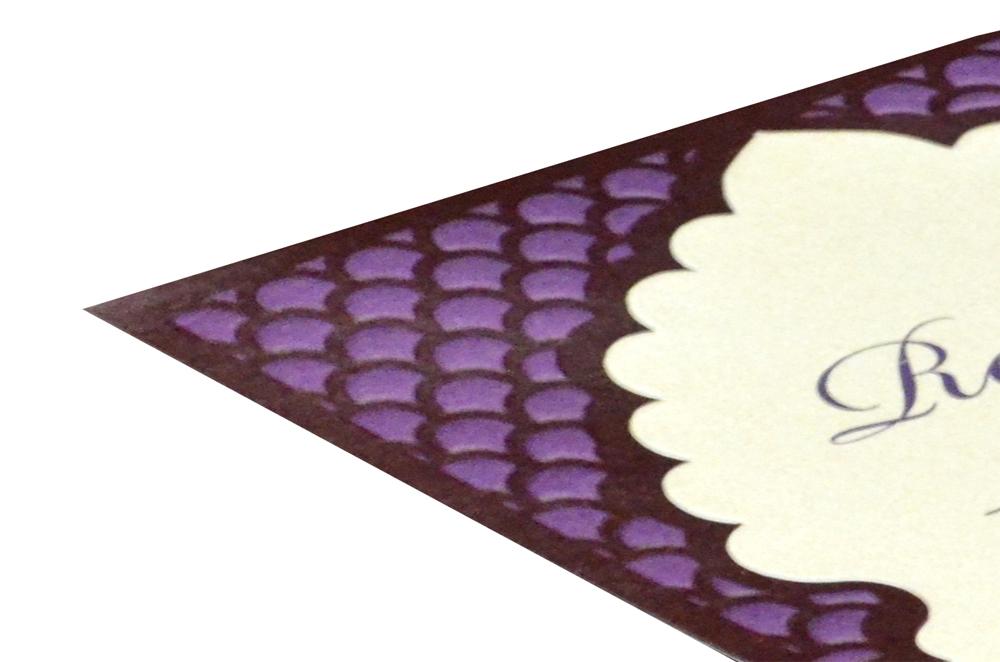 Single Sheet Invitation Design PP 8348 b