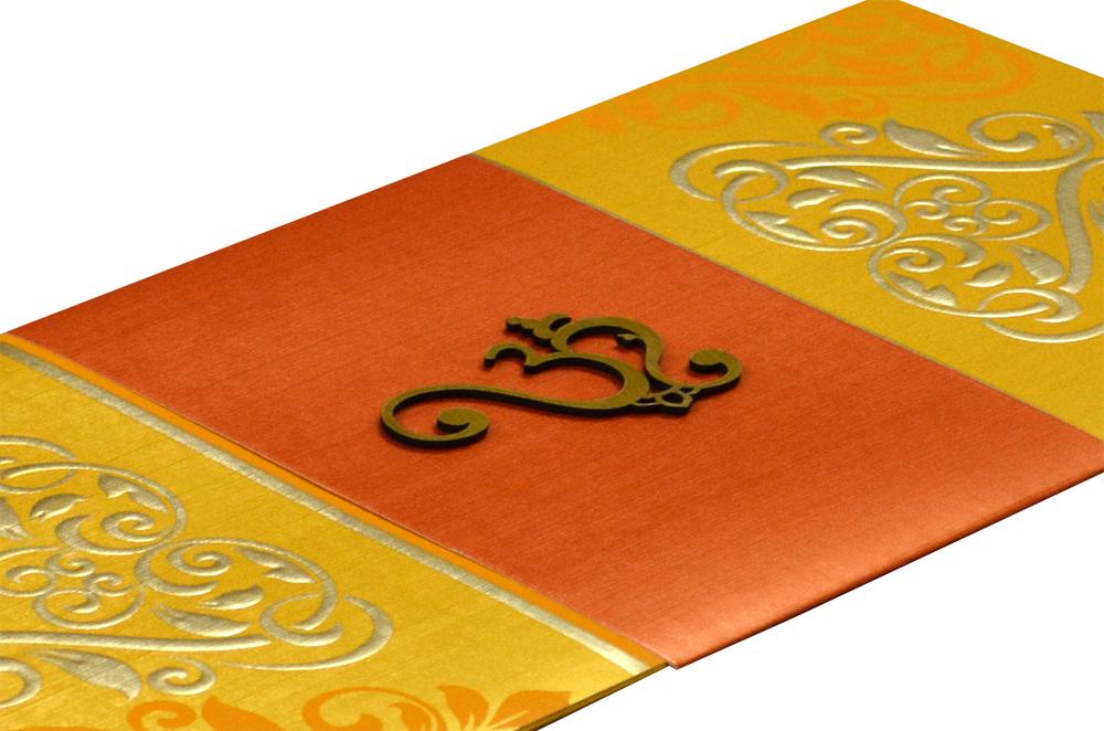 Designer Budget Wedding Card PR 351 b