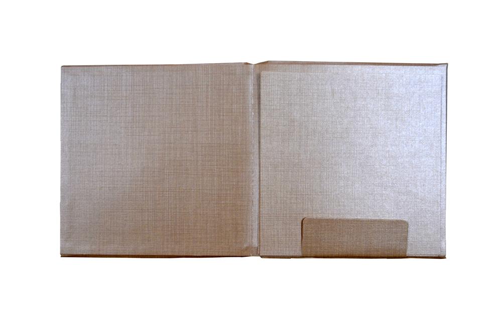 Padded Wedding Card Design RN 2044 PEACH f
