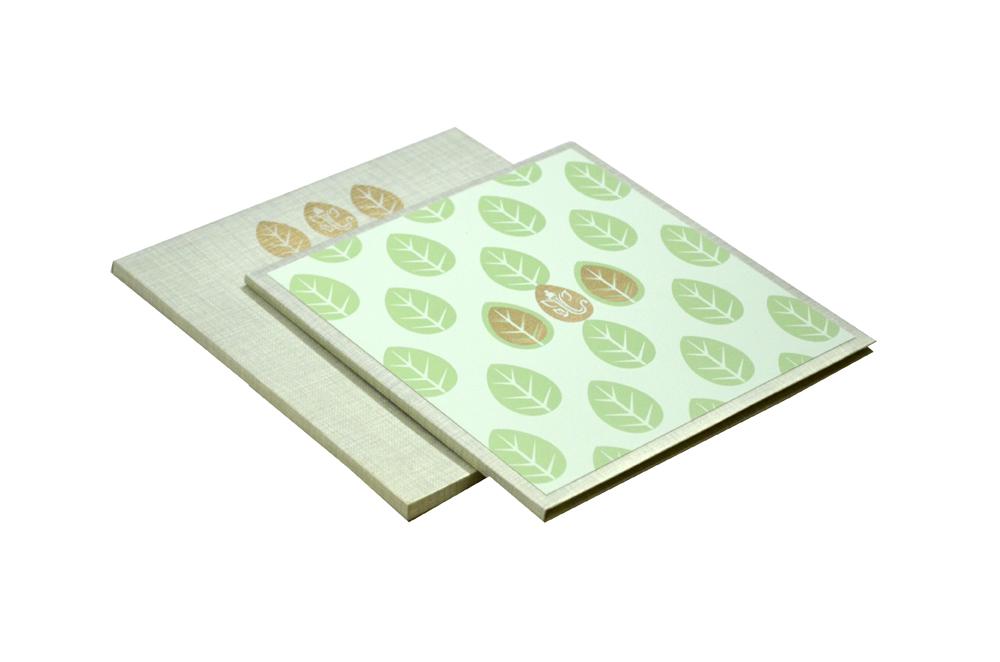 Padded Wedding Card Design RN 2046 PISTA