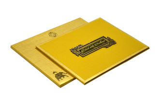 Muslim Padded Wedding Card RN 2056
