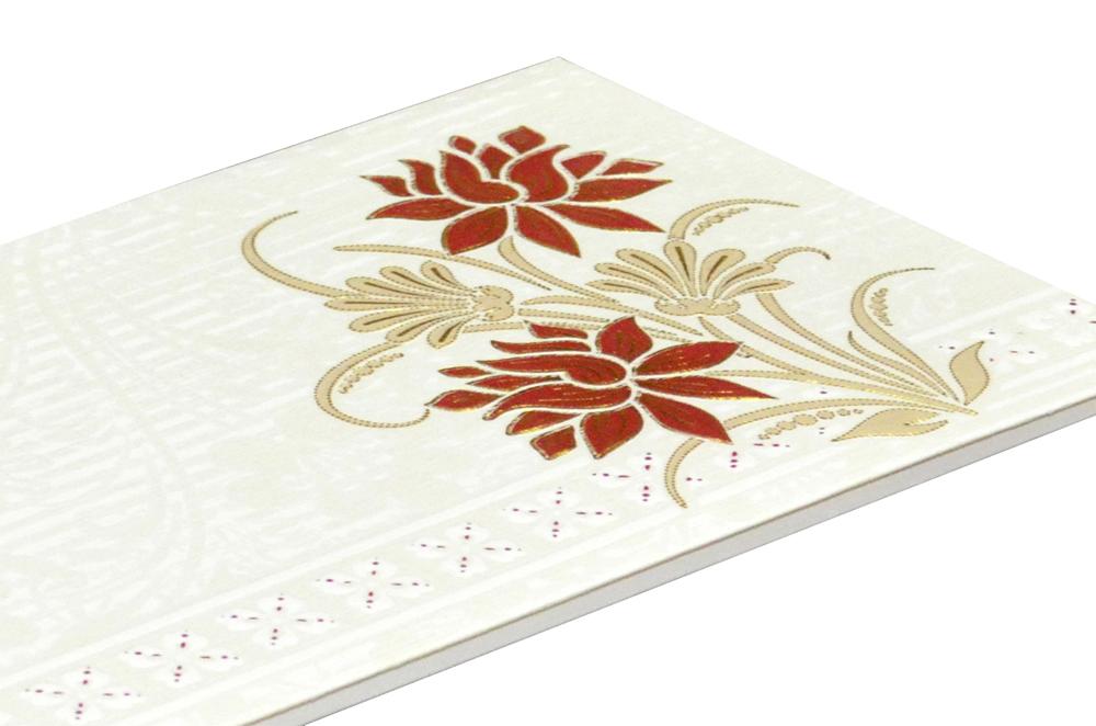 White Budget Wedding Card RN 2073 b