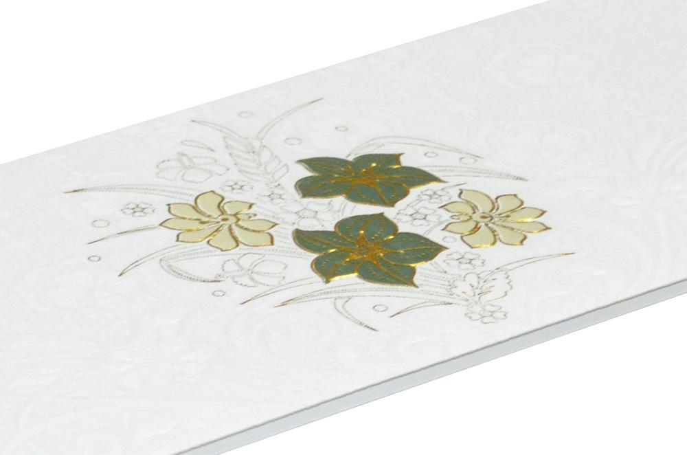 White Budget Wedding Card RN 2076 b