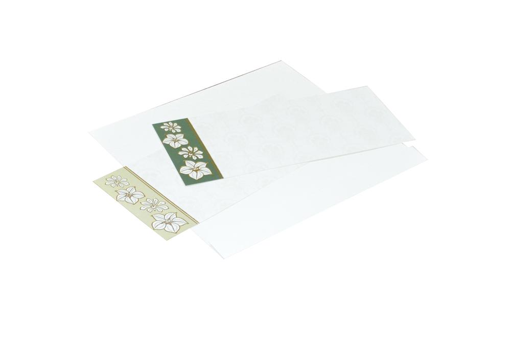White Budget Wedding Card RN 2076 e