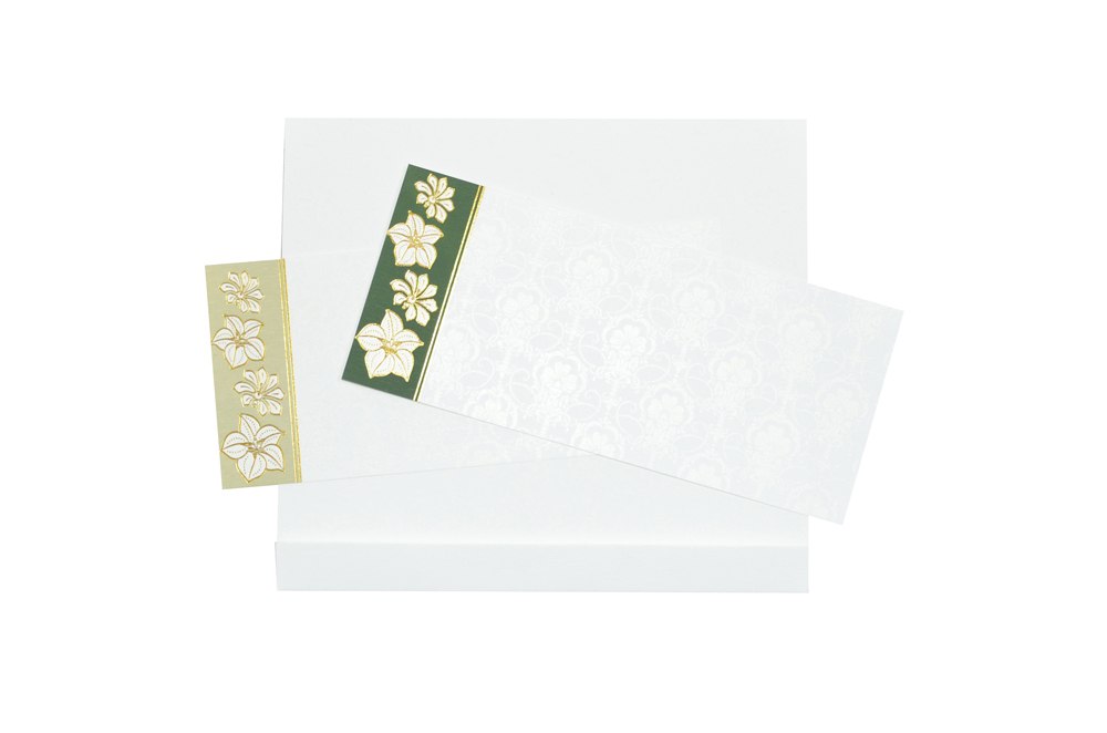 White Budget Wedding Card RN 2076 f
