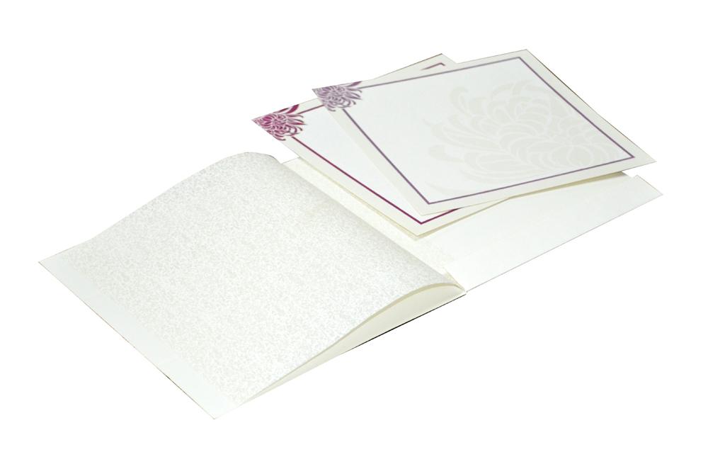 White Budget Wedding Card RN 2086 d