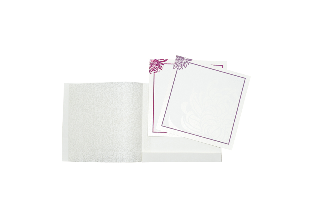White Budget Wedding Card RN 2086 e