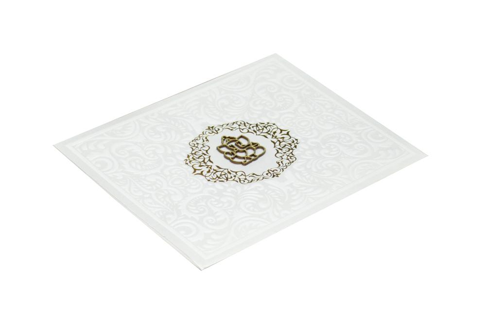 White Wedding Card RR 392 c