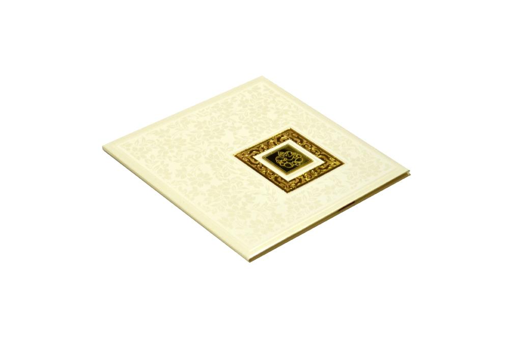 Hindu Padded Wedding Card RR 521 c