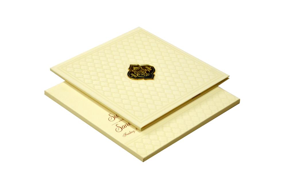 Padded Wedding Card Design RR 528