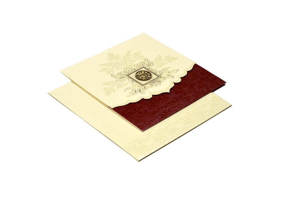 Hindu Wedding Card Design RR 534