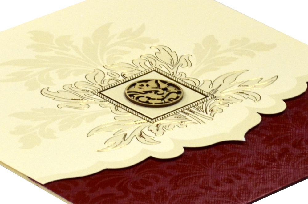 Hindu Wedding Card Design RR 534 b