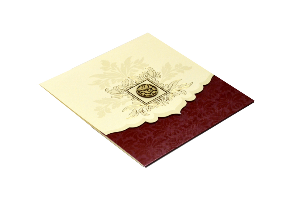 Hindu Wedding Card Design RR 534 c