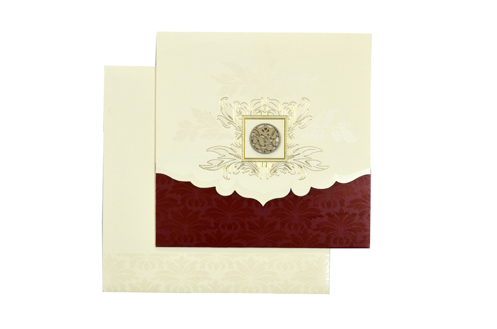 Hindu Wedding Card Design RR 534 d