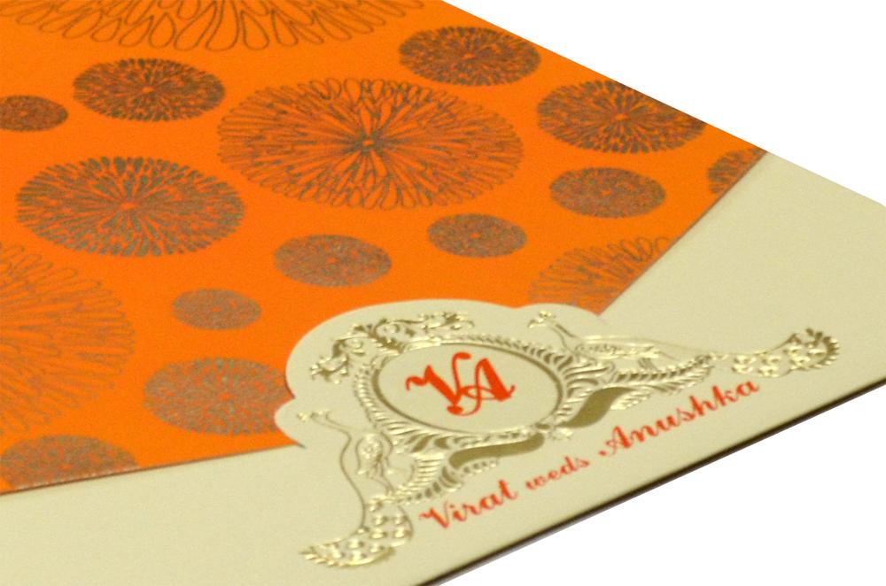 Designer Wedding Card RR 537 b