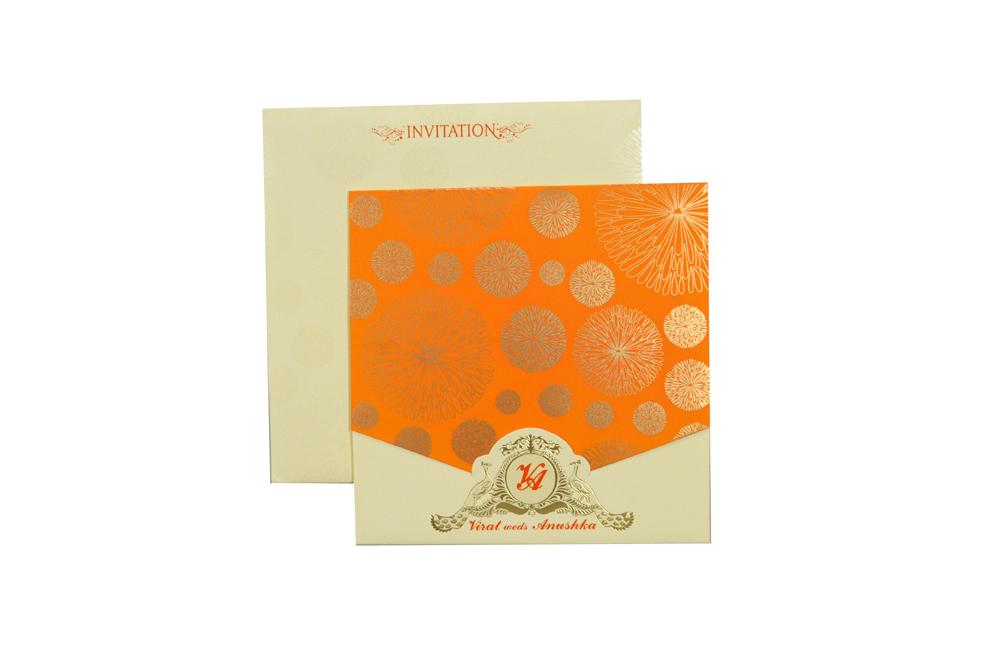 Designer Wedding Card RR 537 d