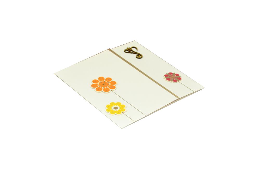 Designer Wedding Card RR 927 c