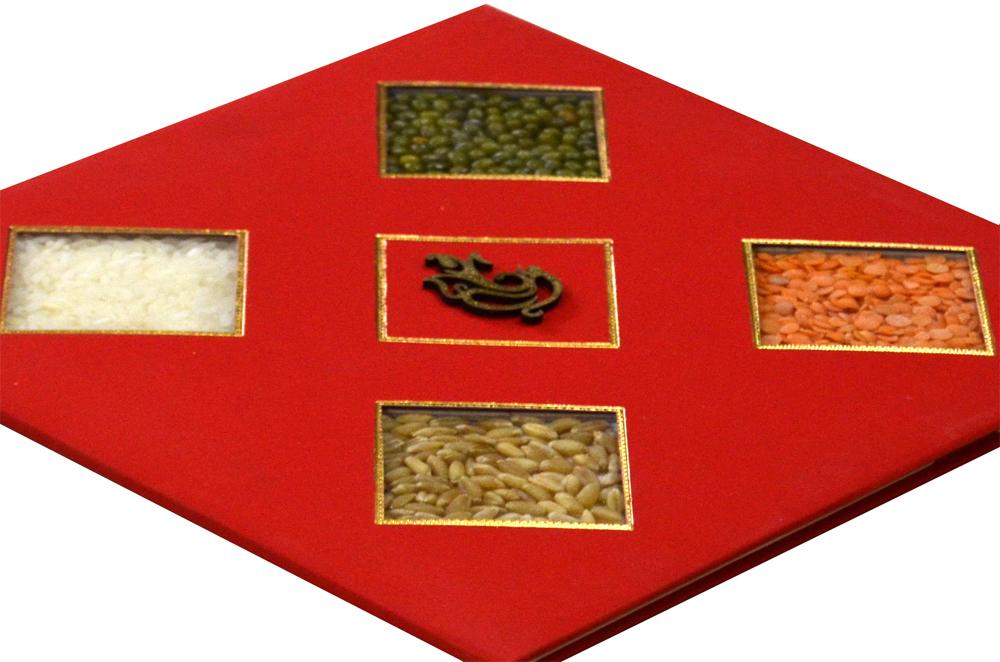 Traditional Wedding Card RR 930 b