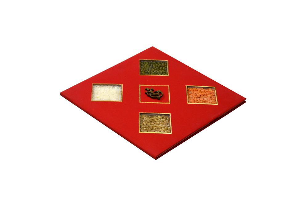 Traditional Wedding Card RR 930 c
