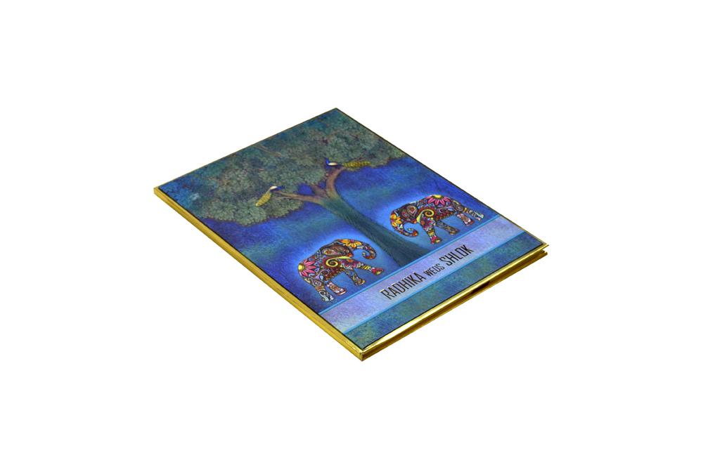 Elephant Theme Wedding Card Design RR 965 c