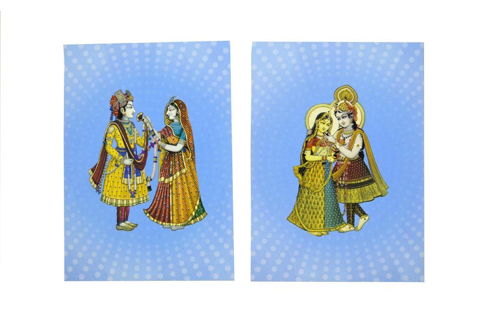 Bride Groom Theme Wedding Card Design AC 603