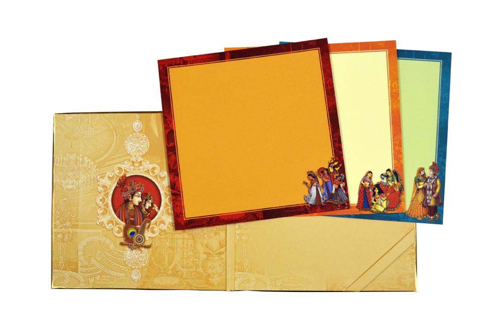 Padded Wedding Card AC 622