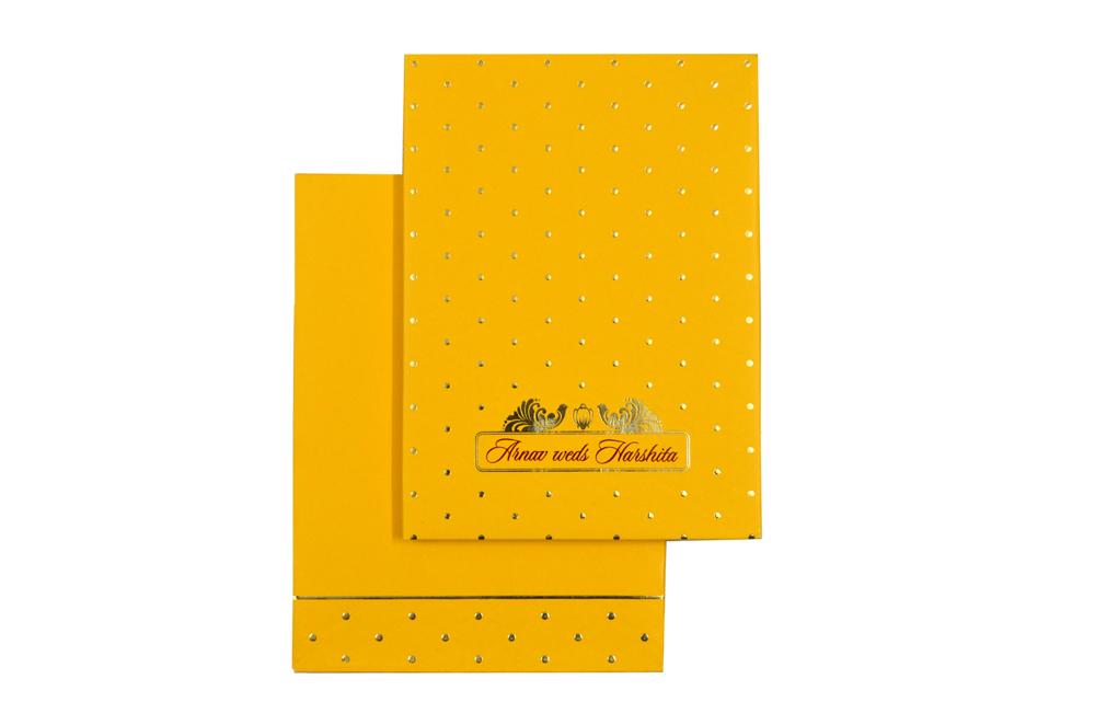 Padded Wedding Card AC 646