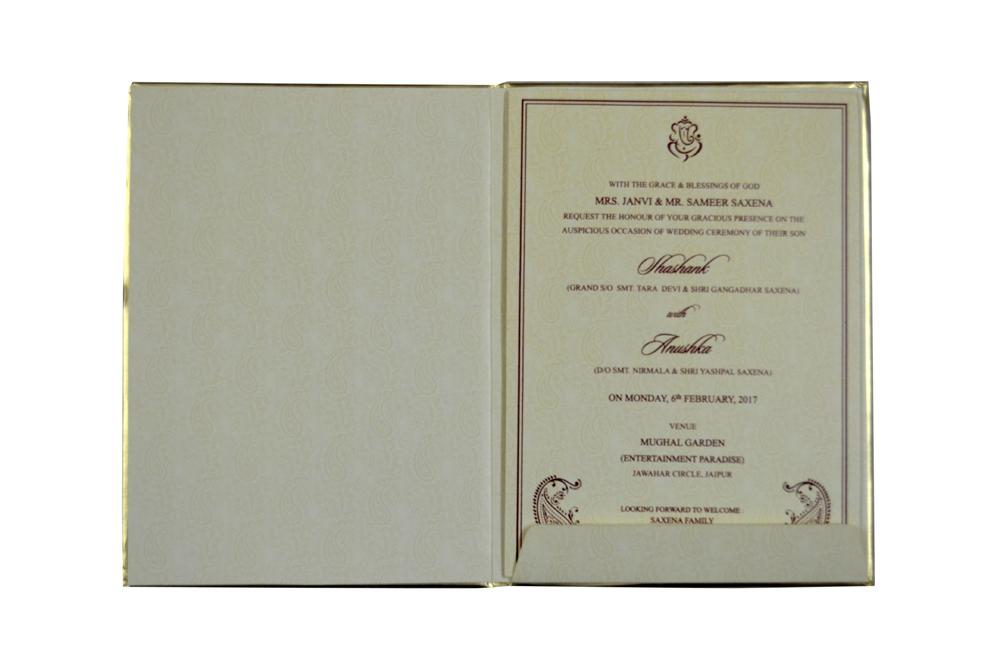 Bride Theme Wedding Card AC 690