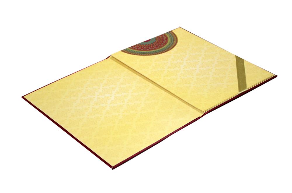 Designer Wedding Card AC 722