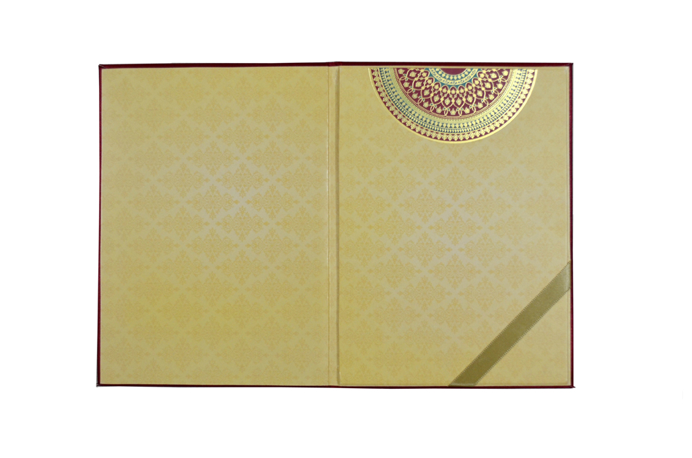 Designer Wedding Card AC 722