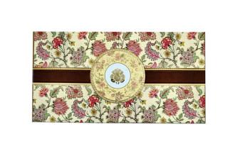 Floral Boxed Wedding Card PDB 217