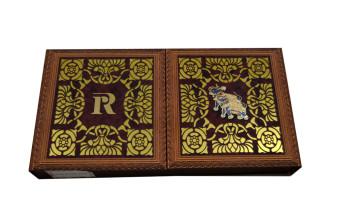 Elephant Theme Boxed Wedding Card PDB 222