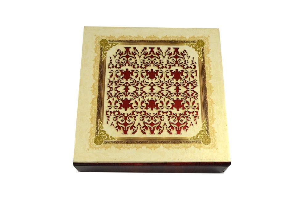 Laser Cut Boxed Wedding Card PDB 233