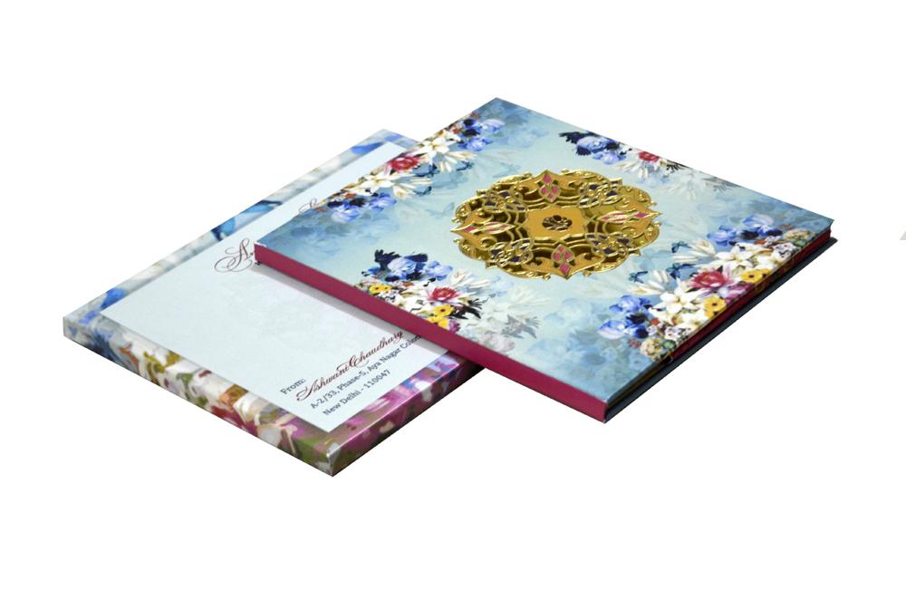 Floral Wedding Card Design PDC 203